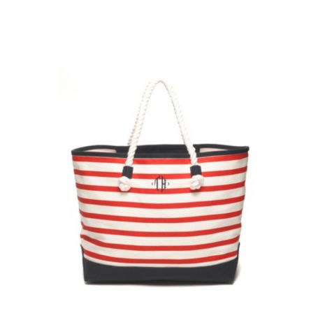 Image for NAUTICAL STRIPE TOTE from Tommy Hilfiger USA