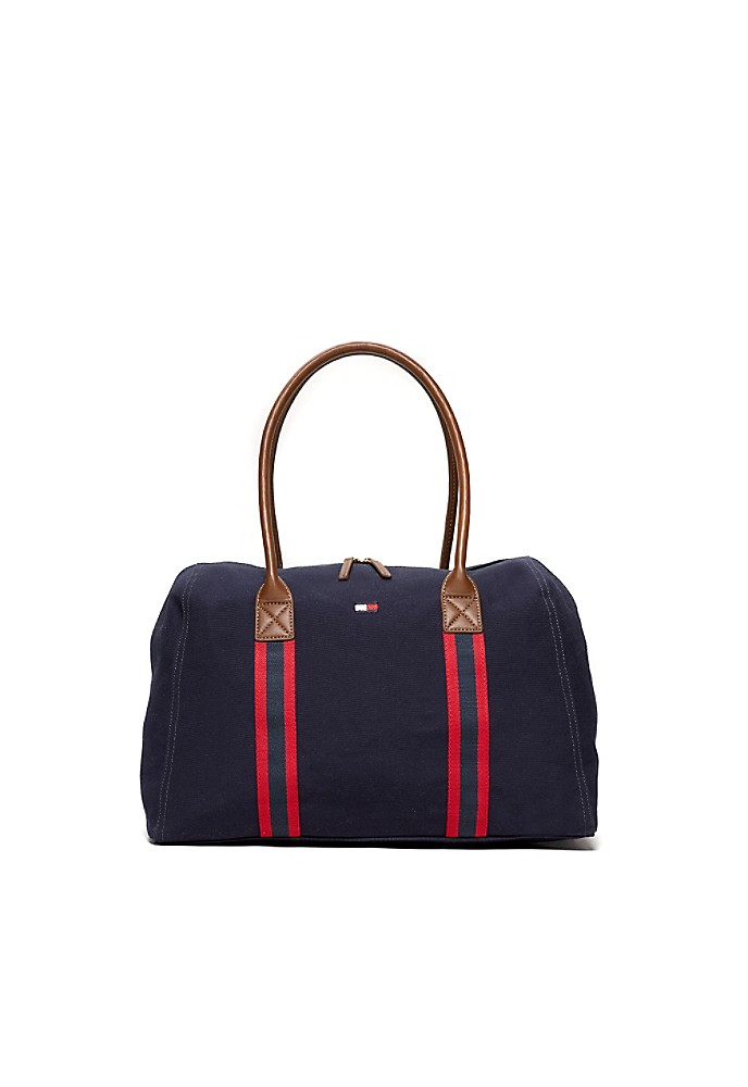 tommy hilfiger weekend travel tote ebay. Black Bedroom Furniture Sets. Home Design Ideas