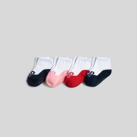Image for INFANT BOW INTARSIA 4 PACK from Tommy Hilfiger USA