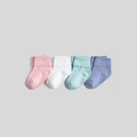 Image for INFANT RUFFLE CUFF 4 PACK from Tommy Hilfiger USA