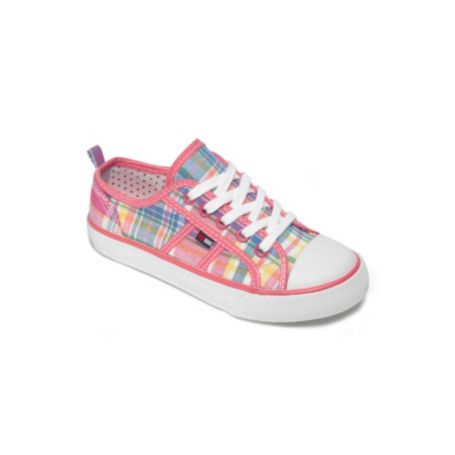 Image for MULTI PLAID LACE UP SNEAKER from Tommy Hilfiger USA