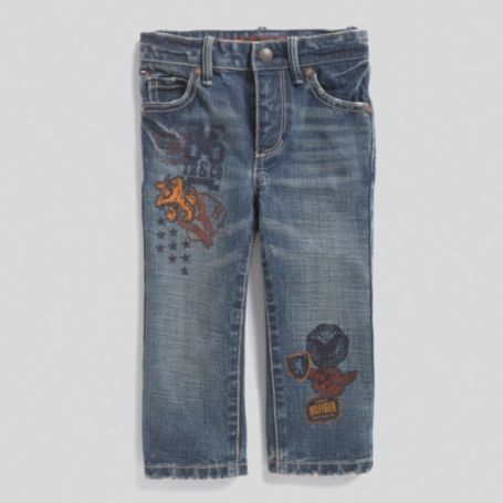 Image for FREEDOM STRAIGHT GRAPHIC JEAN from Tommy Hilfiger USA
