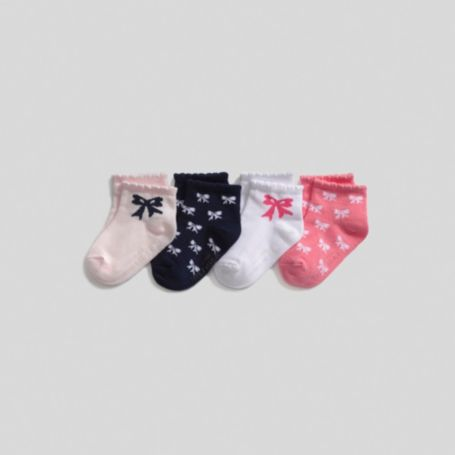 Image for INFANT GIRL CARSON 4PK (Bow) from Tommy Hilfiger USA