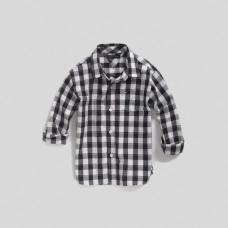 Image for CHECK SHIRT from Tommy Hilfiger USA