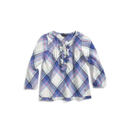 Image for PLAID TUNIC TOP from Tommy Hilfiger USA