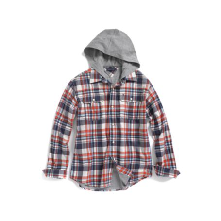 Image for JERSEY HOODED SHIRT from Tommy Hilfiger USA