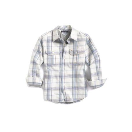Image for JERSEY LINED PLAID SHIRT from Tommy Hilfiger USA