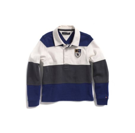 Image for PIECED RUGBY POLO from Tommy Hilfiger USA