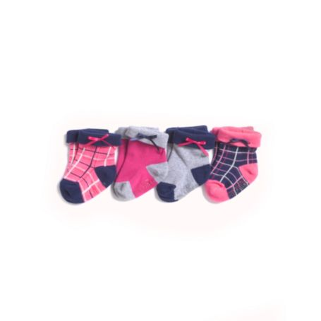 Image for INFANT PLAID 4 PACK SOCK from Tommy Hilfiger USA