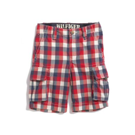 Image for CHECK CARGO SHORT from Tommy Hilfiger USA