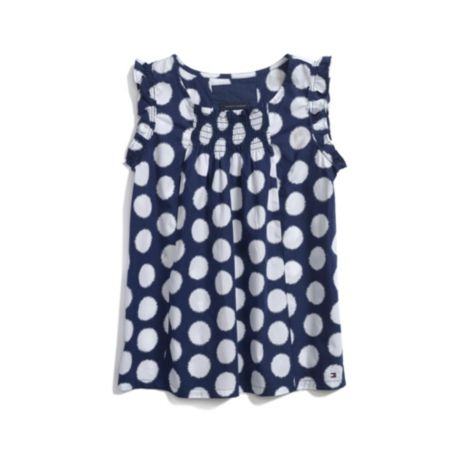 Image for PRINTED DOT TOP from Tommy Hilfiger USA