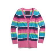 STRIPE FULL ZIP SWEATER $29.99