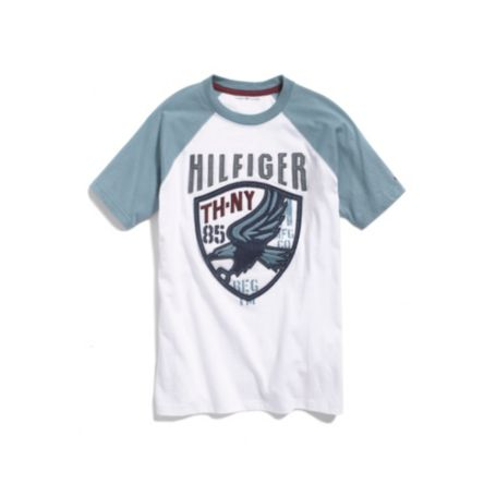 Image for RAGLAN FASHION TEE from Tommy Hilfiger USA