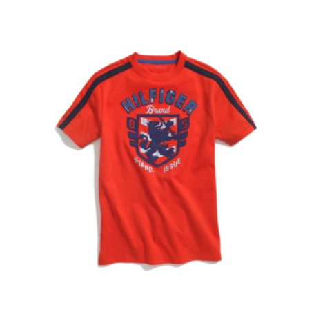 Image for HILFIGER CREST GRAPHIC TEE from Tommy Hilfiger USA