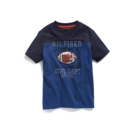 Image for FOOTBALL FASHION TEE from Tommy Hilfiger USA