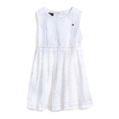 Image for EYELET DRESS from Tommy Hilfiger USA