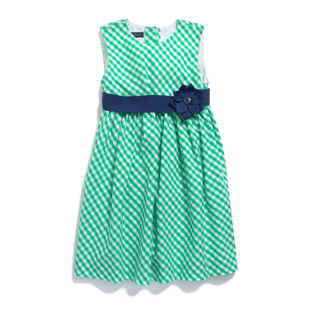 Image for GINGHAM PARTY DRESS from Tommy Hilfiger USA