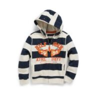 STRIPE FLEECE $29.99