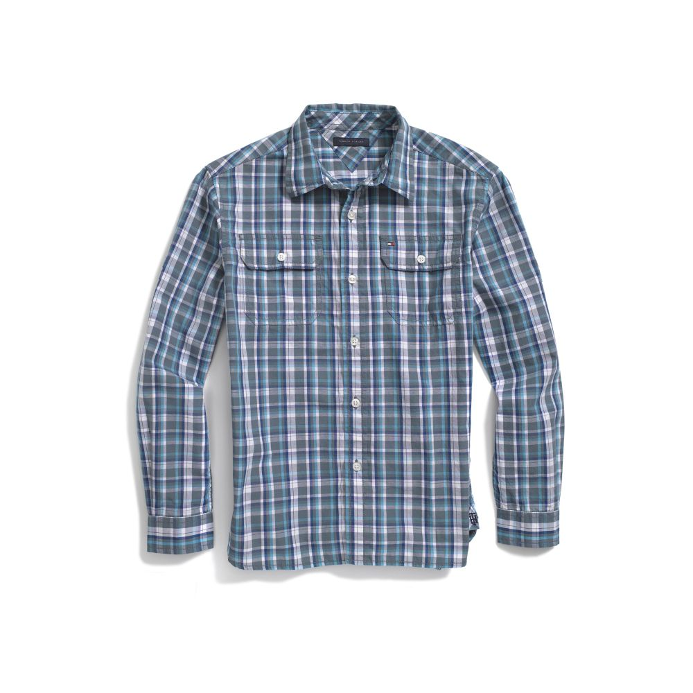 Image for PLAID SHIRT from Tommy Hilfiger USA