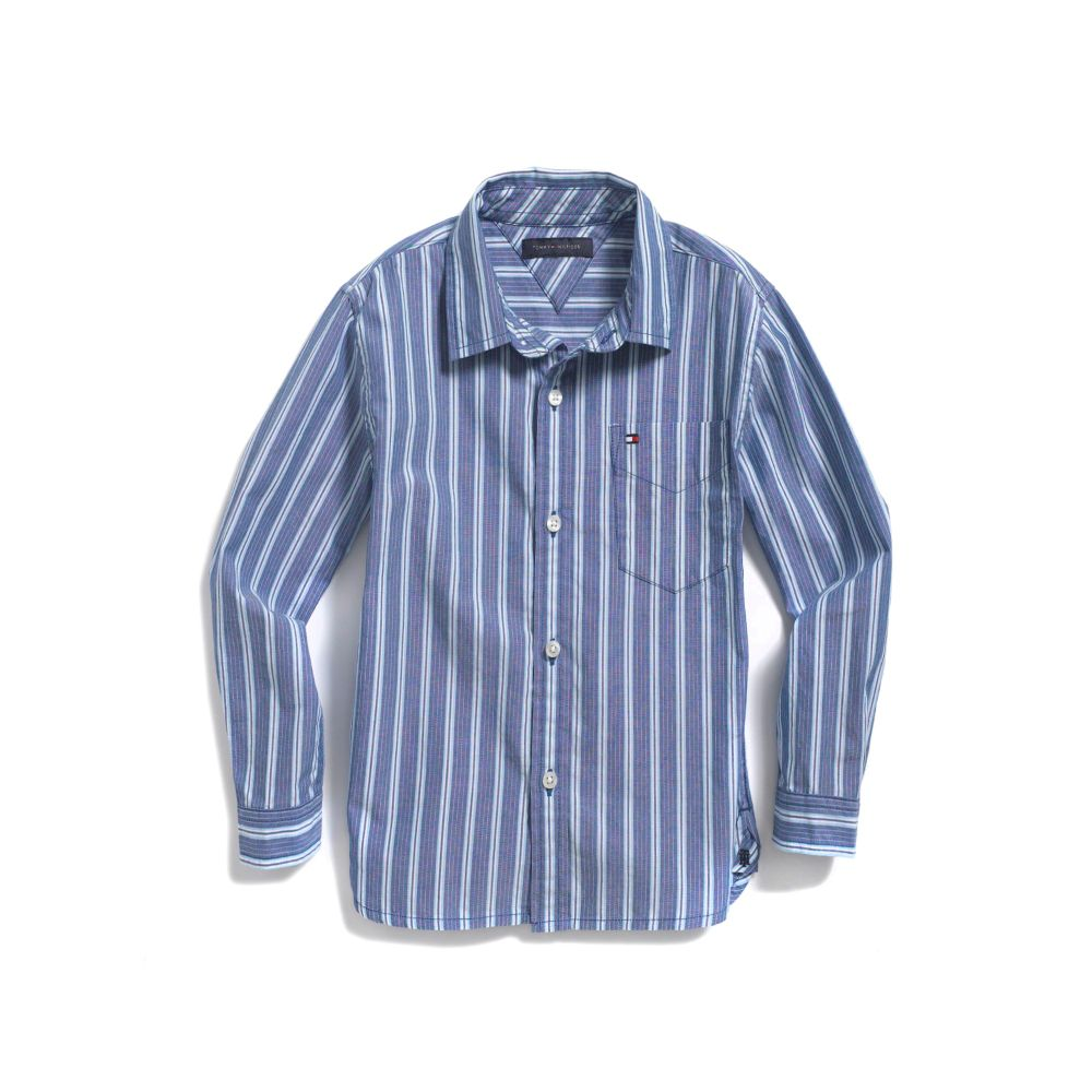 Image for BANKER STRIPE SHIRT from Tommy Hilfiger USA