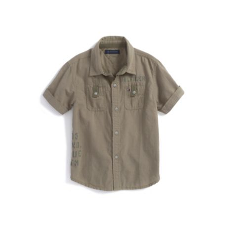 Image for MILITARY SHIRT from Tommy Hilfiger USA
