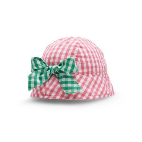 Image for GINGHAM BEACH HAT from Tommy Hilfiger USA