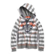 HOODED STRIPE KNIT $29.99