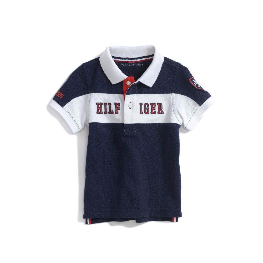 Image for PIECED LOGO POLO from Tommy Hilfiger USA