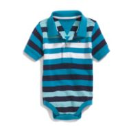 STRIPE POLO BODYSUIT $20.00