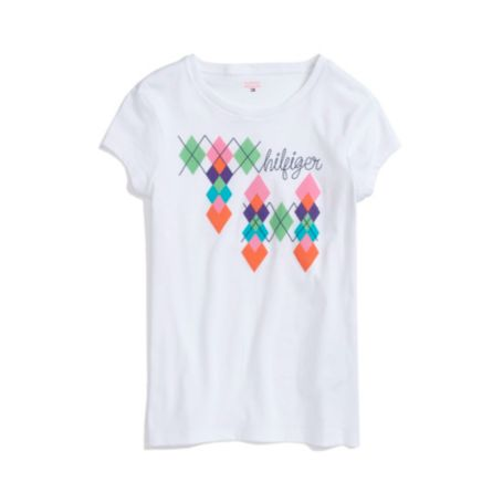 Image for ARGYLE GRAPHIC TEE from Tommy Hilfiger USA