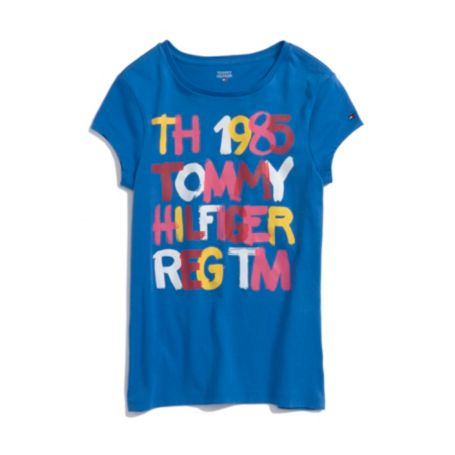 Image for PAINTED LOGO GRAPHIC TEE from Tommy Hilfiger USA