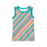 PRINTED STRIPE TANK $15.00