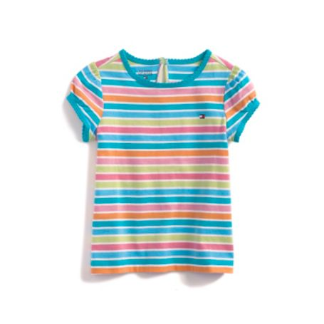 Image for GARDEN STRIPE TEE from Tommy Hilfiger USA