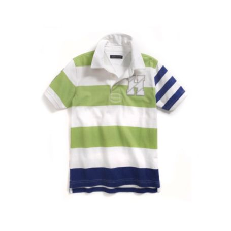 Image for H PIECED RUGBY from Tommy Hilfiger USA