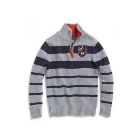 Image for HALF ZIP SWEATER from Tommy Hilfiger USA