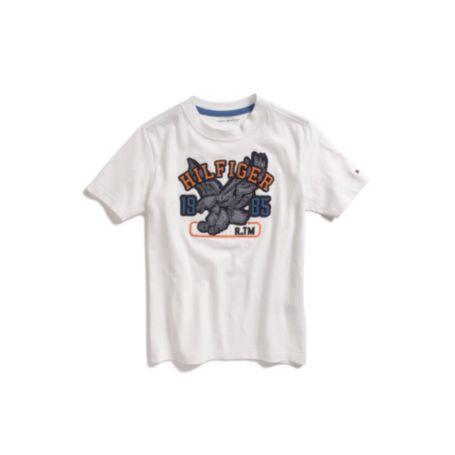 Image for FLYING EAGLE GRAPHIC TEE from Tommy Hilfiger USA