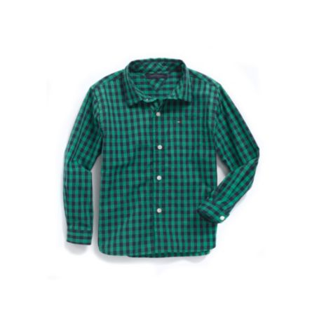Image for GINGHAM SHIRT from Tommy Hilfiger USA