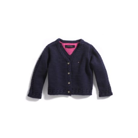 Image for FIRST CARDIGAN SWEATER from Tommy Hilfiger USA