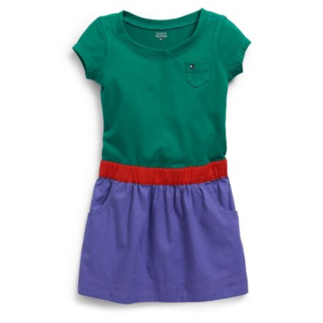 Image for COLOR BLOCK KNIT DRESS from Tommy Hilfiger USA