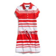STRIPE POLO DRESS $39.00