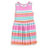 MULTI STRIPE KNIT DRESS $32.99