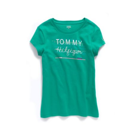 Image for CHALKBOARD GRAPHIC TEE from Tommy Hilfiger USA