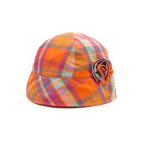 Tommy Hilfiger Summer Beach Hat - Orange - 2T-3T