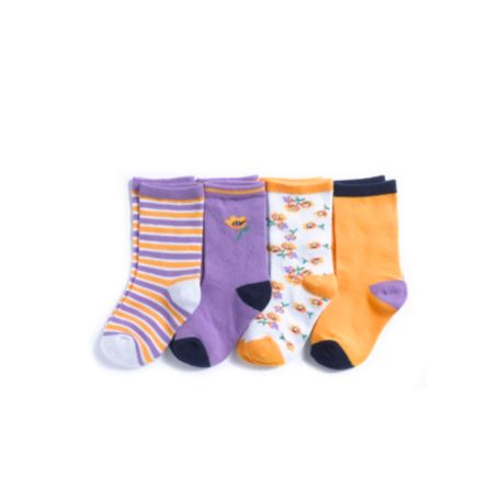 Image for FLOWER SOCKS 4PK from Tommy Hilfiger USA