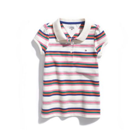 Image for STRIPE POLO BODYSUIT from Tommy Hilfiger USA