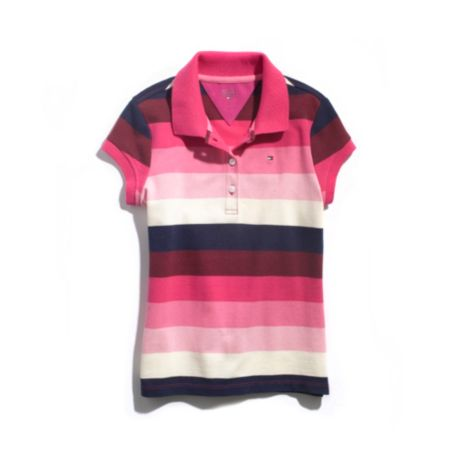 Image for FASHION STRIPE POLO from Tommy Hilfiger USA