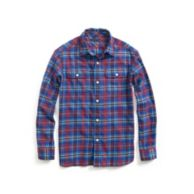 PLAID ROLLUP SHIRT $36.50