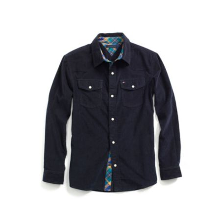 Image for FASHION CORDUROY SHIRT from Tommy Hilfiger USA