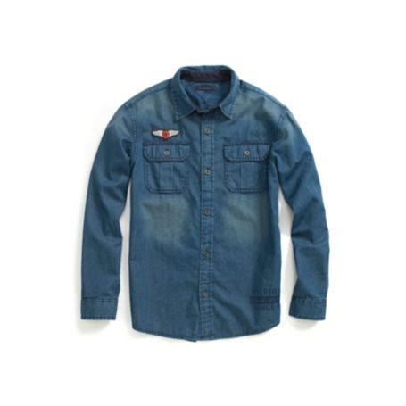 Image for DENIM FASHION SHIRT from Tommy Hilfiger USA