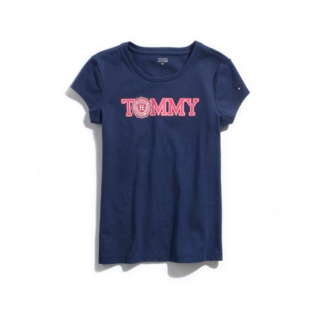 Image for CREST GRAPHIC TEE from Tommy Hilfiger USA